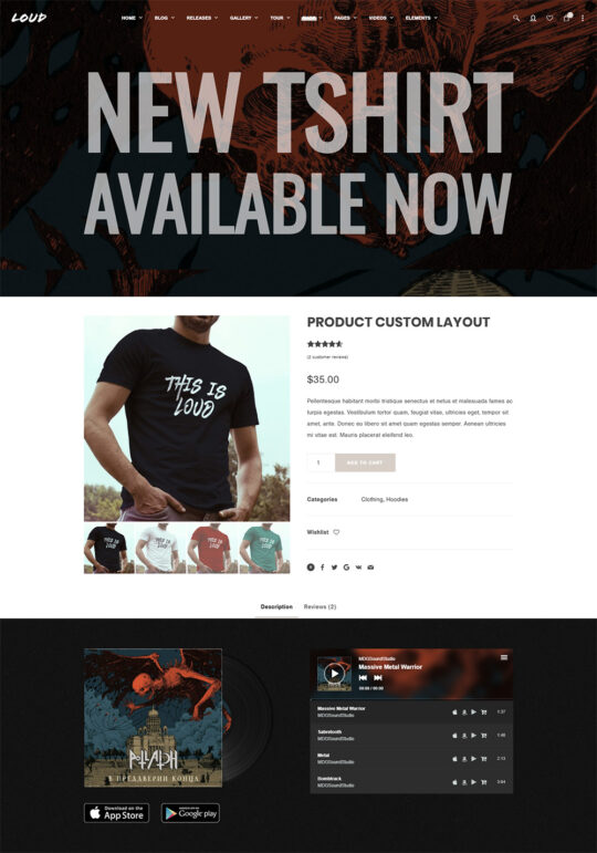 Product-Custom-Layout---Loud